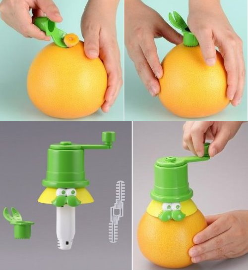 Cute Tool for Drinking Fresh Juice From Your Fruits