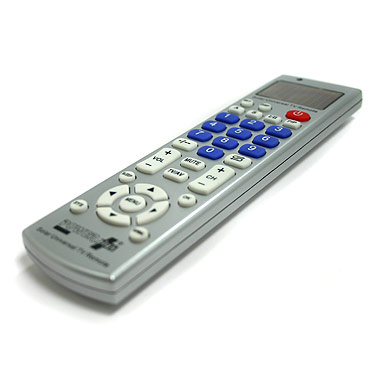 Light Powered Universal TV Remote