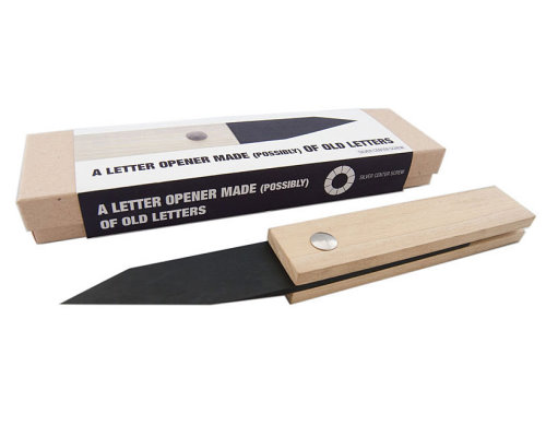 Letter Opener Made From Recycled Paper
