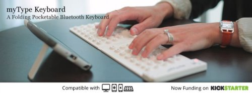myType Keyboard Foldable Wireless Keyboard for Smartphones and Tablets (3)