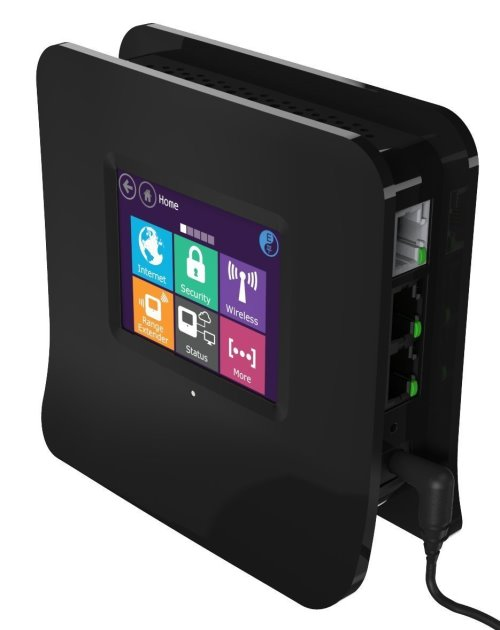 Almond Touchscreen Wireless Router (2)