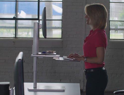 Upright Ergo Adjustable Workstation (1)