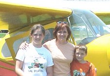 Lorrie with Kids in 2003