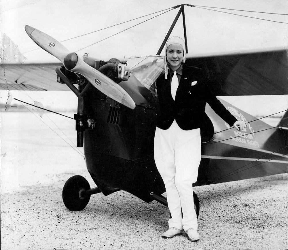 Pilots from the Past: Eleanor Dorman & Marvel Crosson