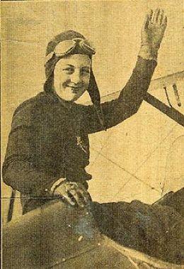 Aviatrix Bettie Lund