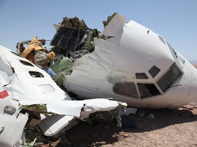 The Most Spectacular Plane Crash of 2012