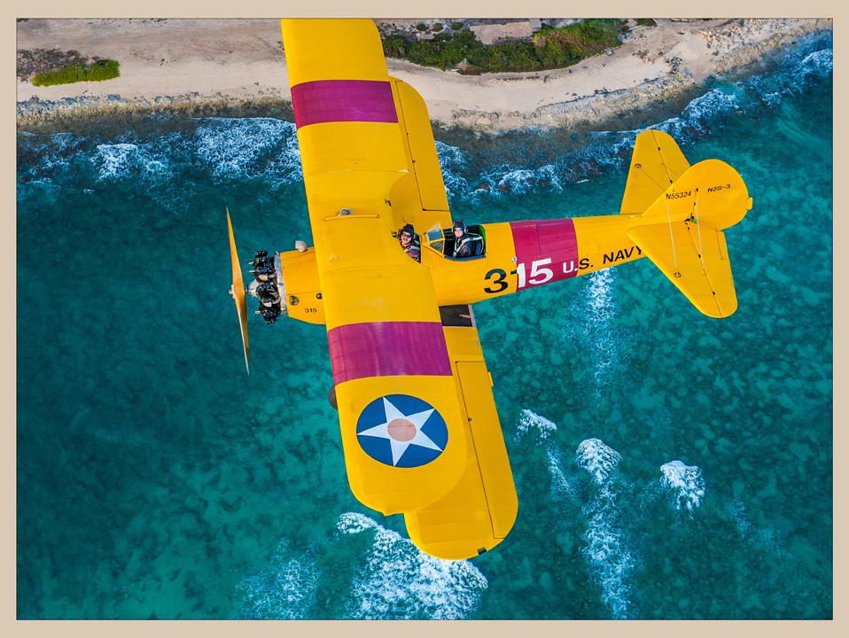 Flying A Stearman In Hawaii, Evelyn Greene