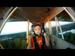 Lainey's First Airplane Ride Video