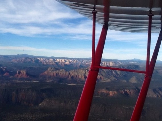 A view from above, beautiful Sedona/Verde Valley Arizona.
