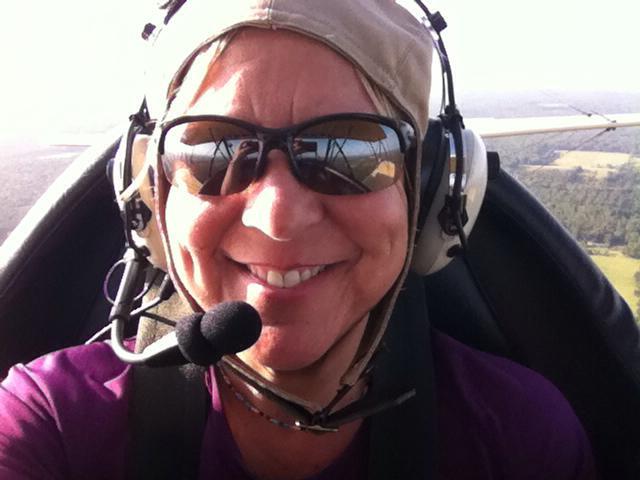 Terri Hull's new wings!