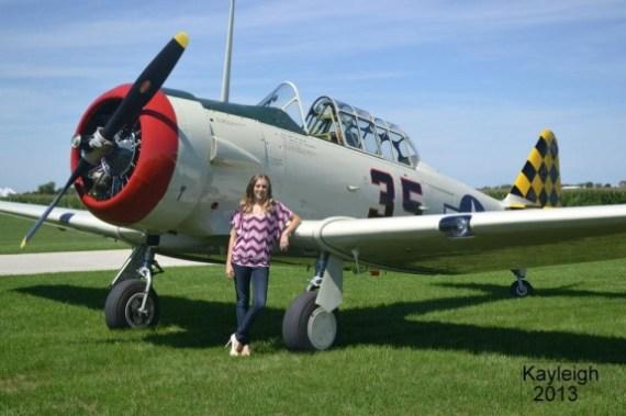 Kayleigh Bordner T-6