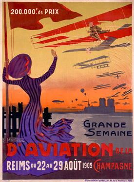 Vintage Aviation Posters and the Role of Women