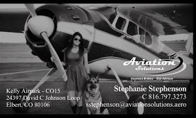 Stephanie Stephenson Business card