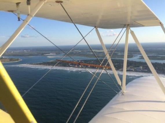 Donna Perkins flying UPF7