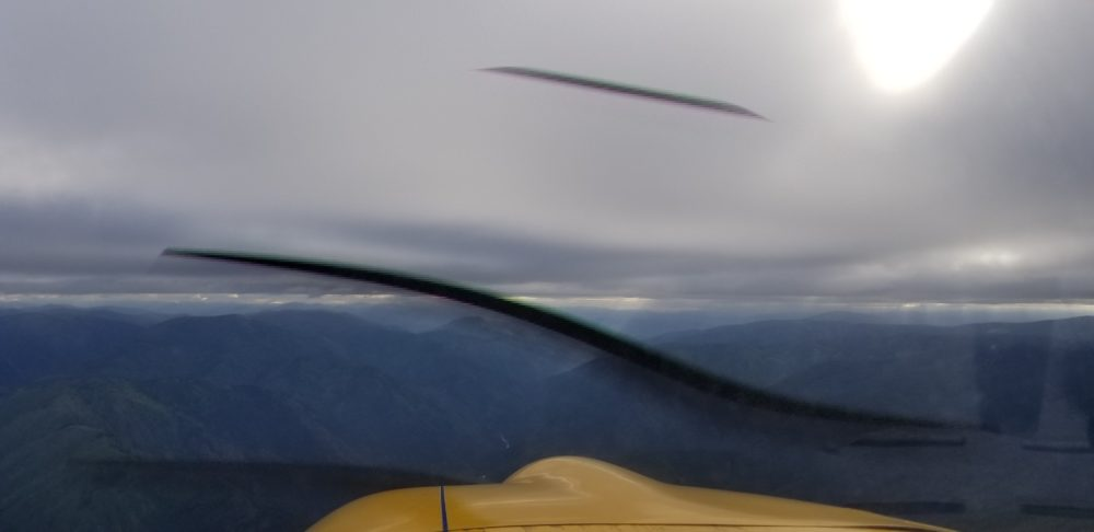 Flying the Idaho and Montana Mountain Passes