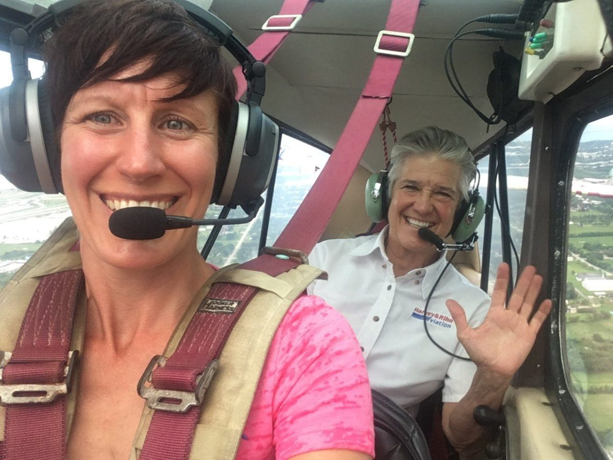 Summer Papple earns her Tailwheel Endorsement!