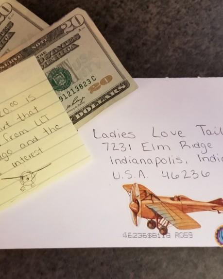A Lady Taildragger pilot pays it back!!