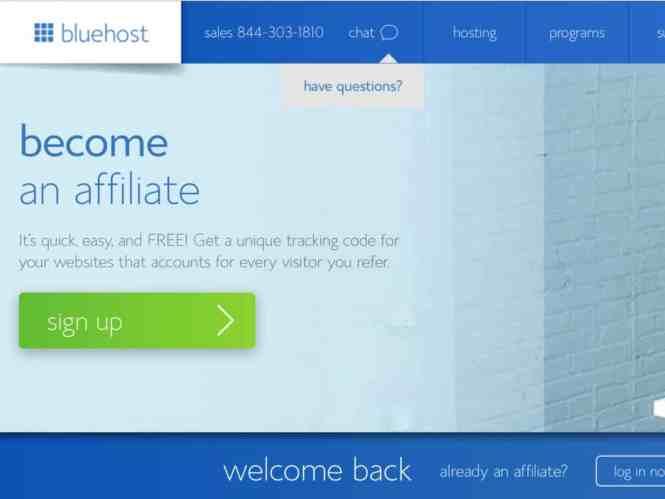 blue host start a blog