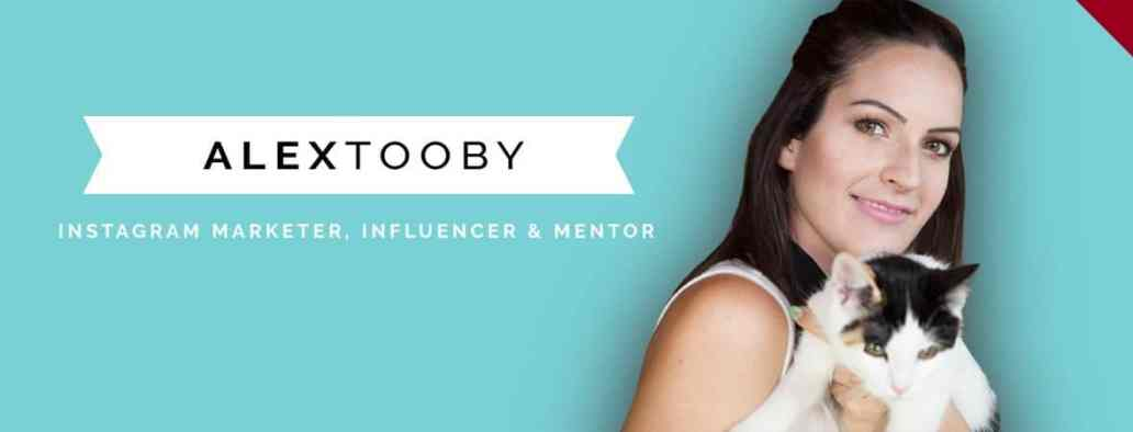 Alex tooby Instagram influencer and blogger
