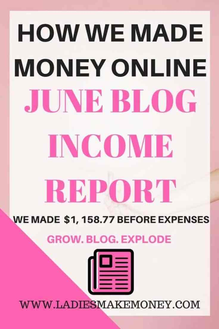 Check out our june blog income report how we made money - How to earn more money in design home ...
