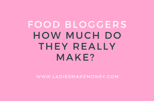 Food blog income reports