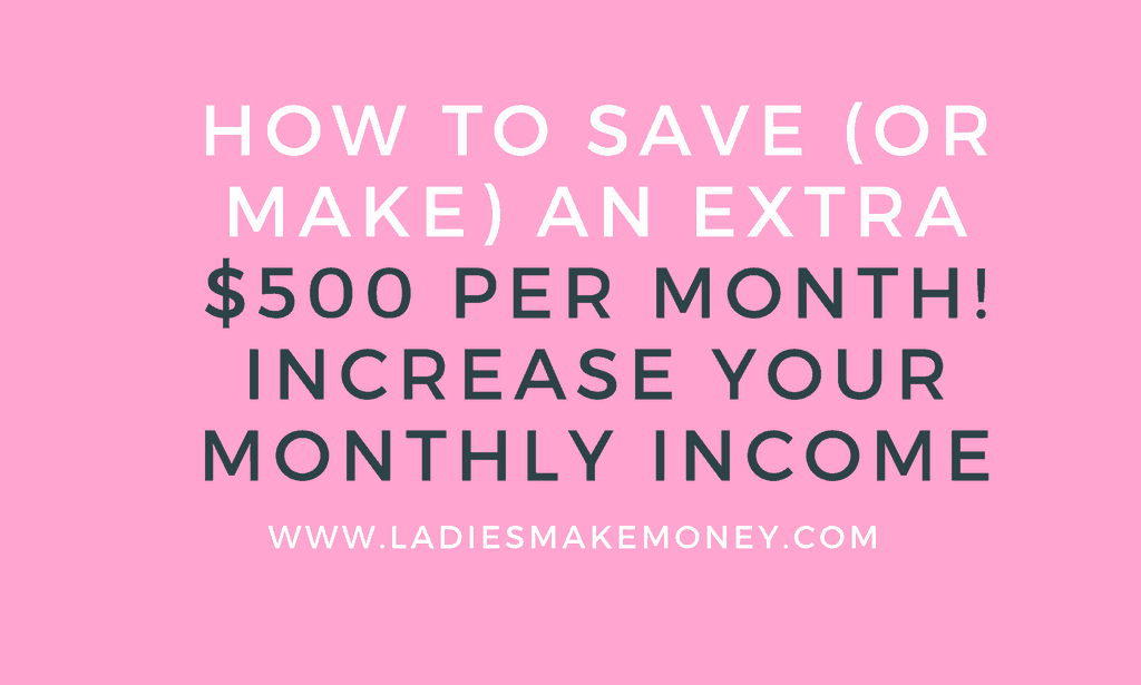 How make extra money each month
