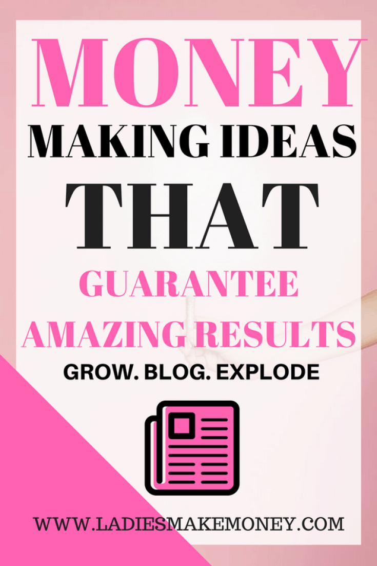 Money Making Ideas that guarantees amazing results