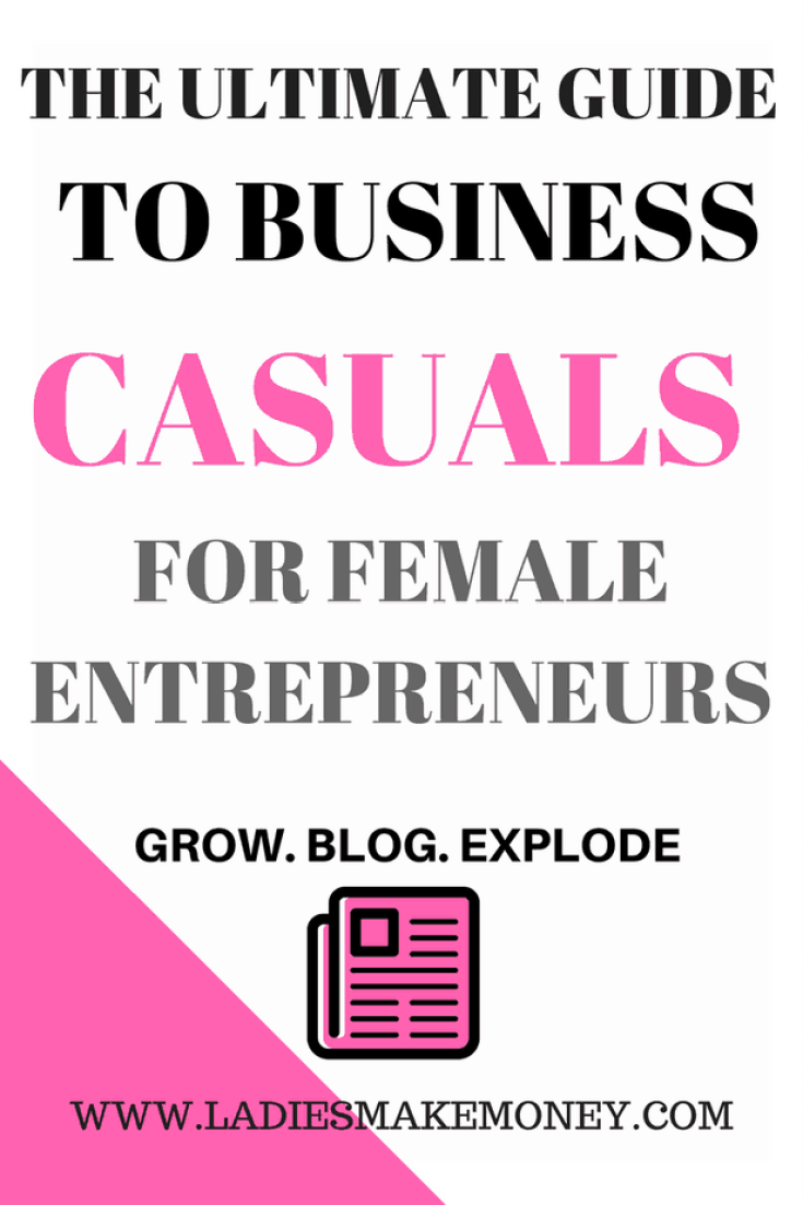 The Ultimate guide to business casuals for women