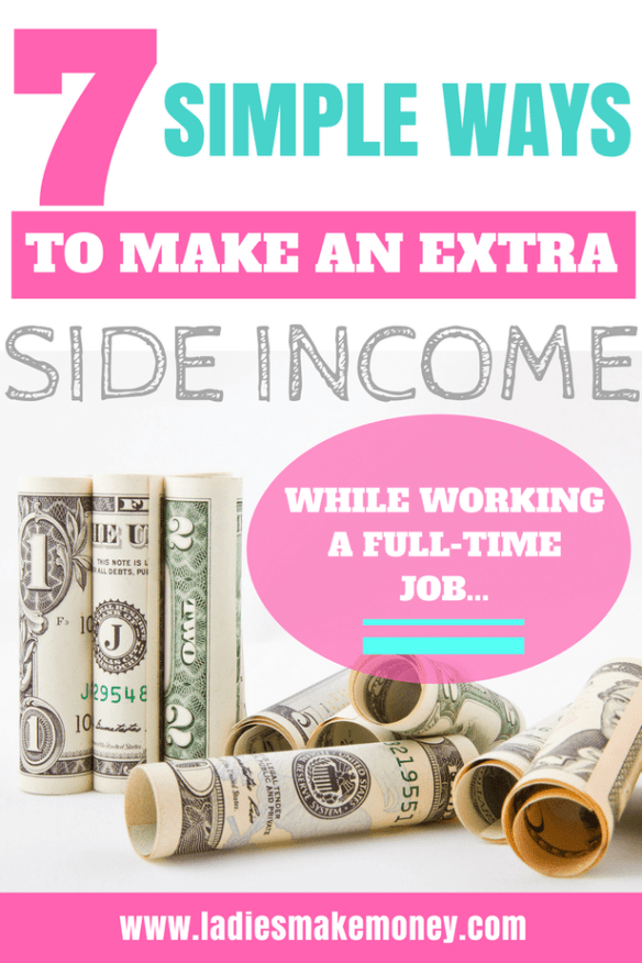 7 Quick Ways to Make Extra Income working full time fast. different ways I make extra money each month.- side hustle, side hustles, make extra money, ways to make extra money, work from home. Things to sell to make extra money fast. Make money online fast from home. How to make money online. Learn how to make extra money as a stay at home. Making money for extra income. Side hustlin that will make you extra money everyday. Ways to earn extra money. #makemoneyonline