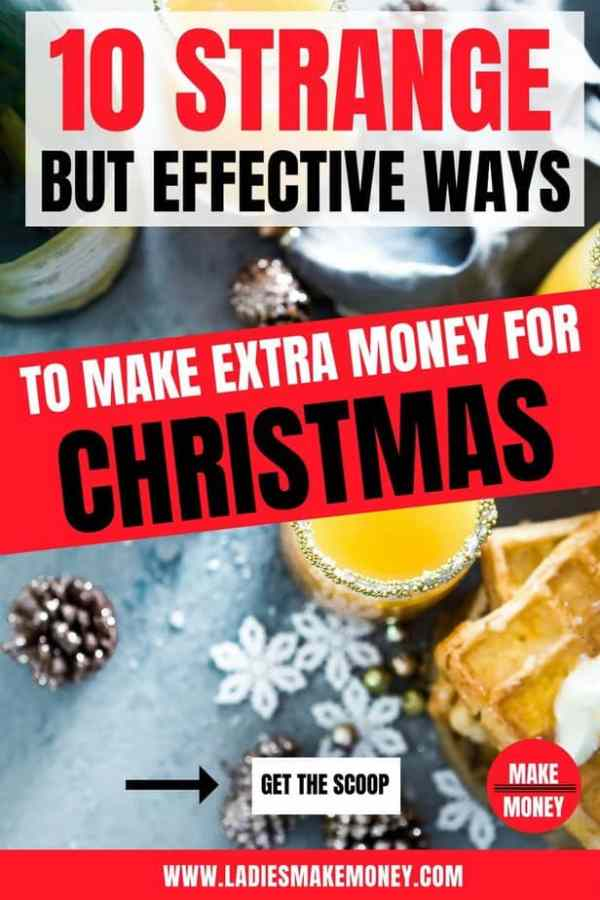 10 ways to make money before christmas | how to pay for christmas without going into debt | how to save money at christmas | christmas budgeting. Learn how to make extra money for Christmas this year. Christmas gift ideas that are not too expensive. How to plan Christmas on a budget. make money fast, make money for christmas, make money for the holidays, make money quickly, make money. #money #finance #makemoney #christmas #budget