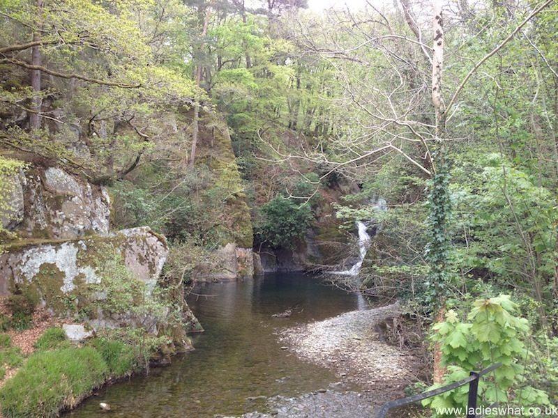 Welsh waterfall