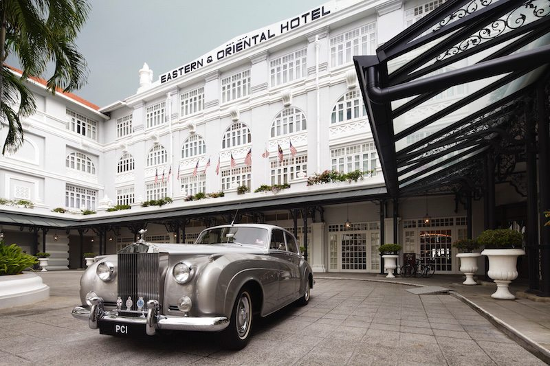 afternoon tea at the eastern & oriental hotel penang