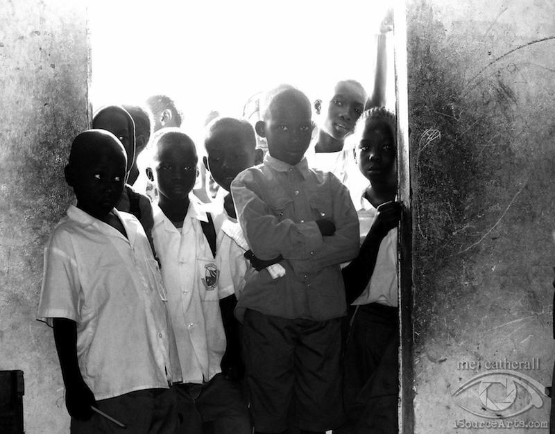 The kids of Jamisa Lower Basic School.