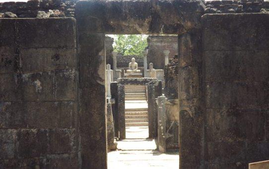 Inside Polonnaruwa Sri Lanka