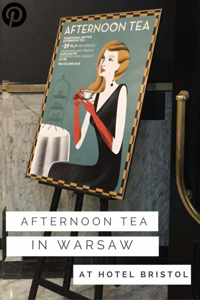 afternoon tea at Hotel Bristol, Warsaw | Ladies What Travel