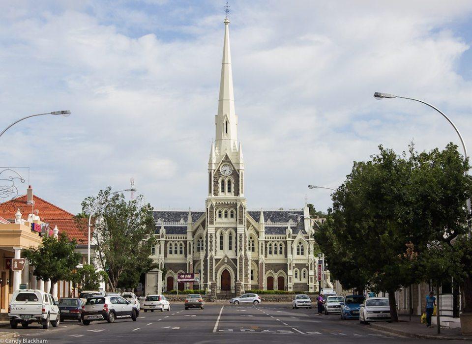 Dutch Reformed Church at the head of Church Street-