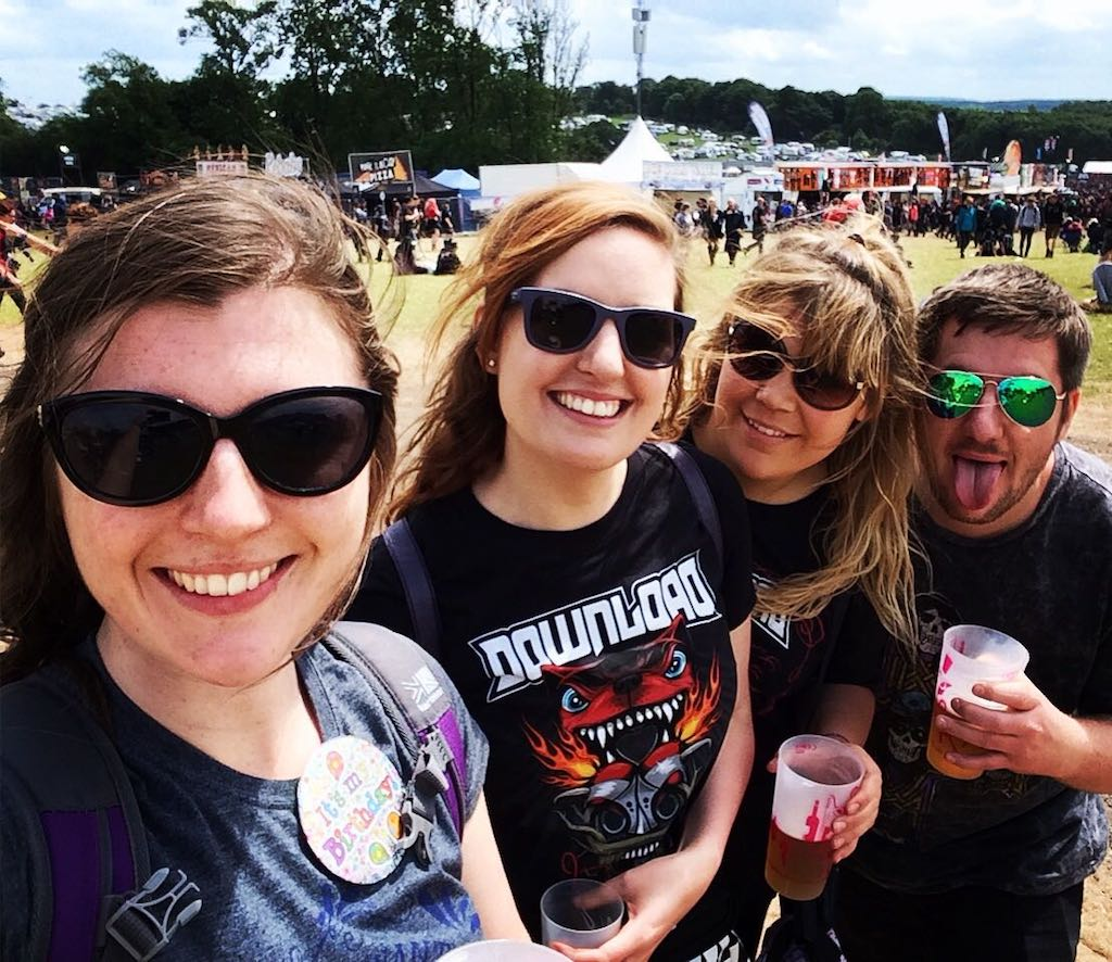 Ladies What Travel at Download Festival