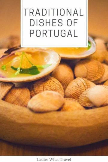 Traditional dishes of Portugal