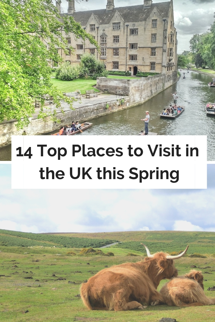 14 Top Places to Visit in the UK this Spring