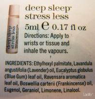 Ingrediënten van de THIS WORKS Deep Sleep Stress Less Balm
