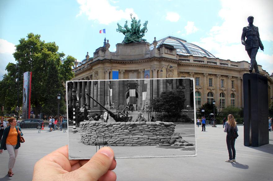 Le Grand Palais 1944