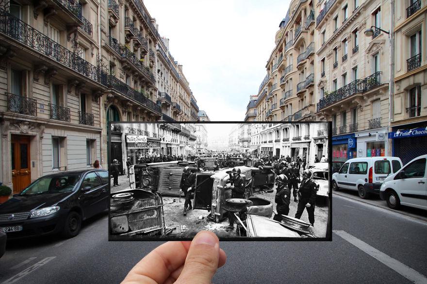 Rue Gay Lussac 1968