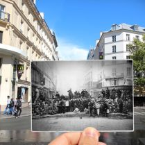 Rue du Faubourg du Temple 1871