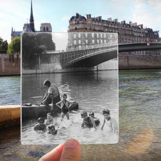 Seine Notre Dame 1930