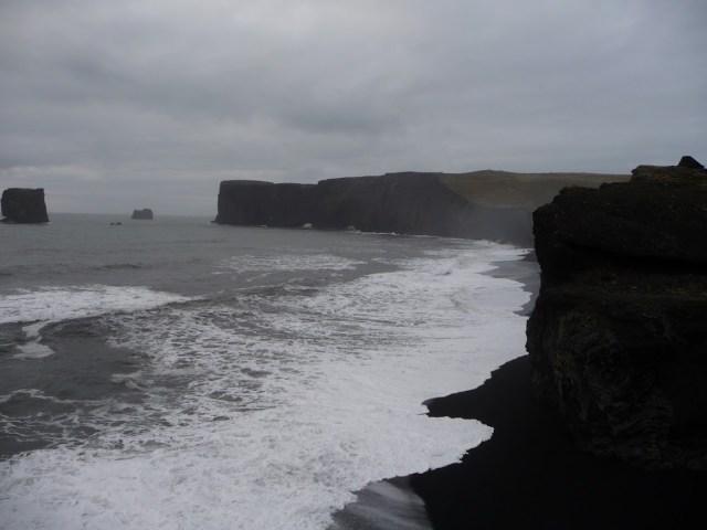 dyrhólaey en het zwarte zand strand