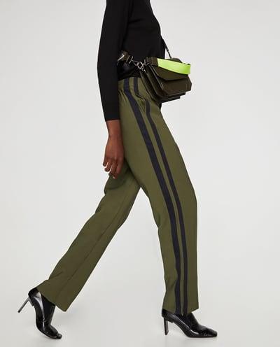Groene pantalon - Zara - € 19,99