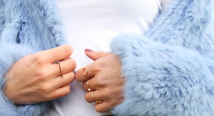 faux fur jassen pastel