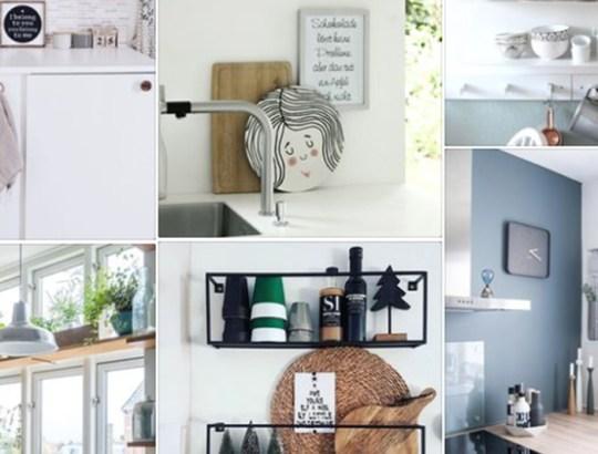 pinspiratie praktische keuken decoratie
