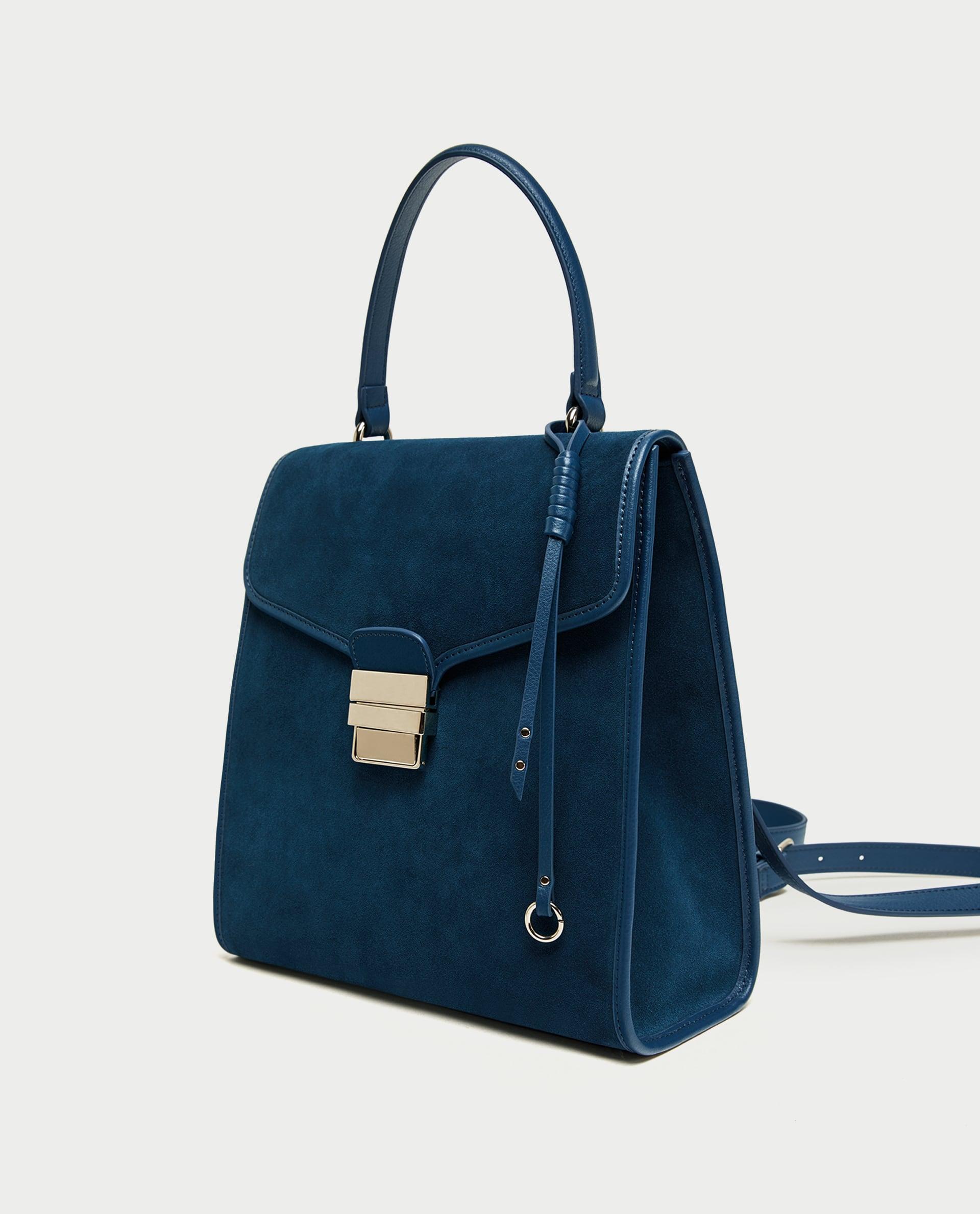 Suede rugzak - Zara - € 39,99