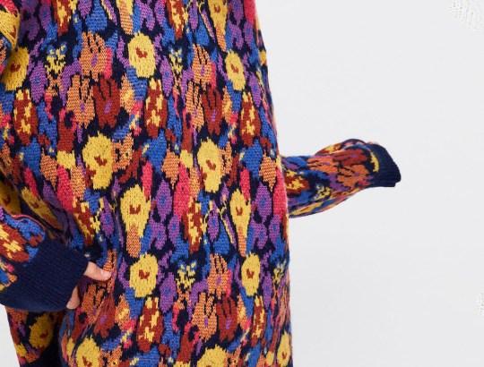 kleurrijke trui - zara uitverkoop -header